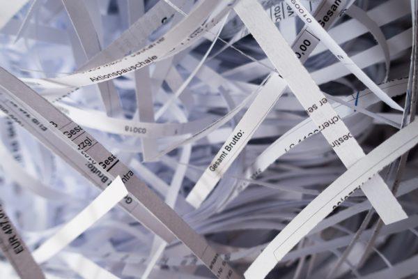 Jak se zbavit citlivých dokumentů?