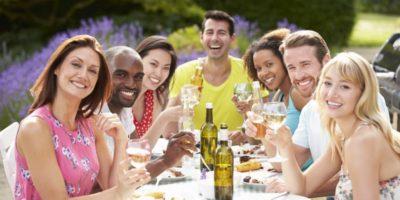 Party stany jsou ideální pro pořádání oslav a akcí