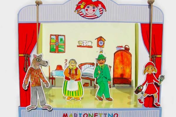 Zahrajte svým dětem loutkové divadlo. Doma a s jejich pomocí